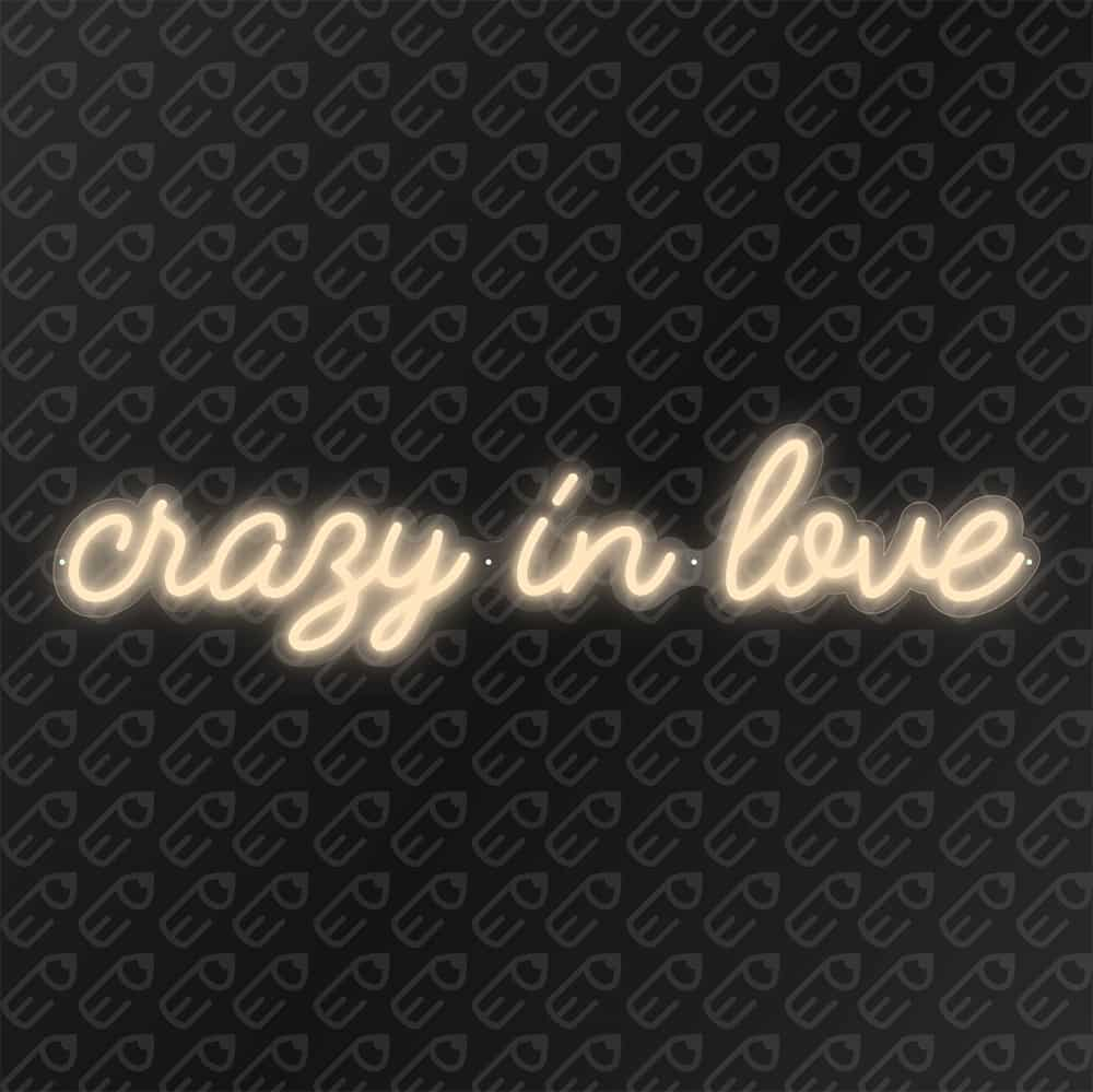 crazy in love Blanc chaud