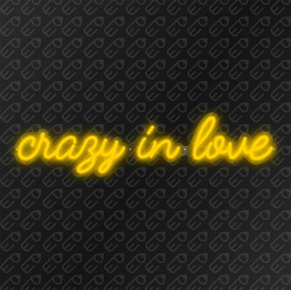 crazy in love Jaune