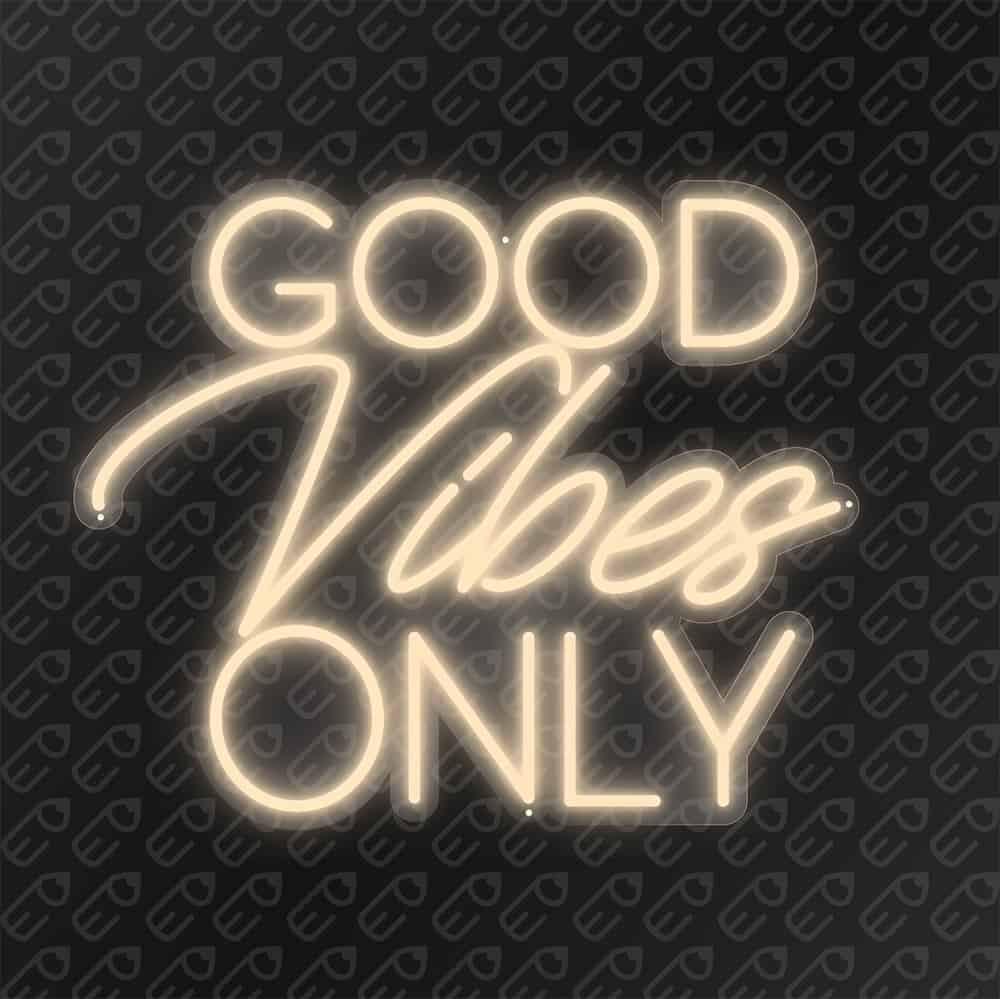Good vibes Only Blanc chaud