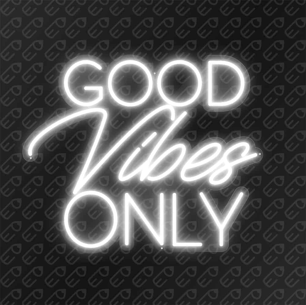 Good vibes Only Blanc froid