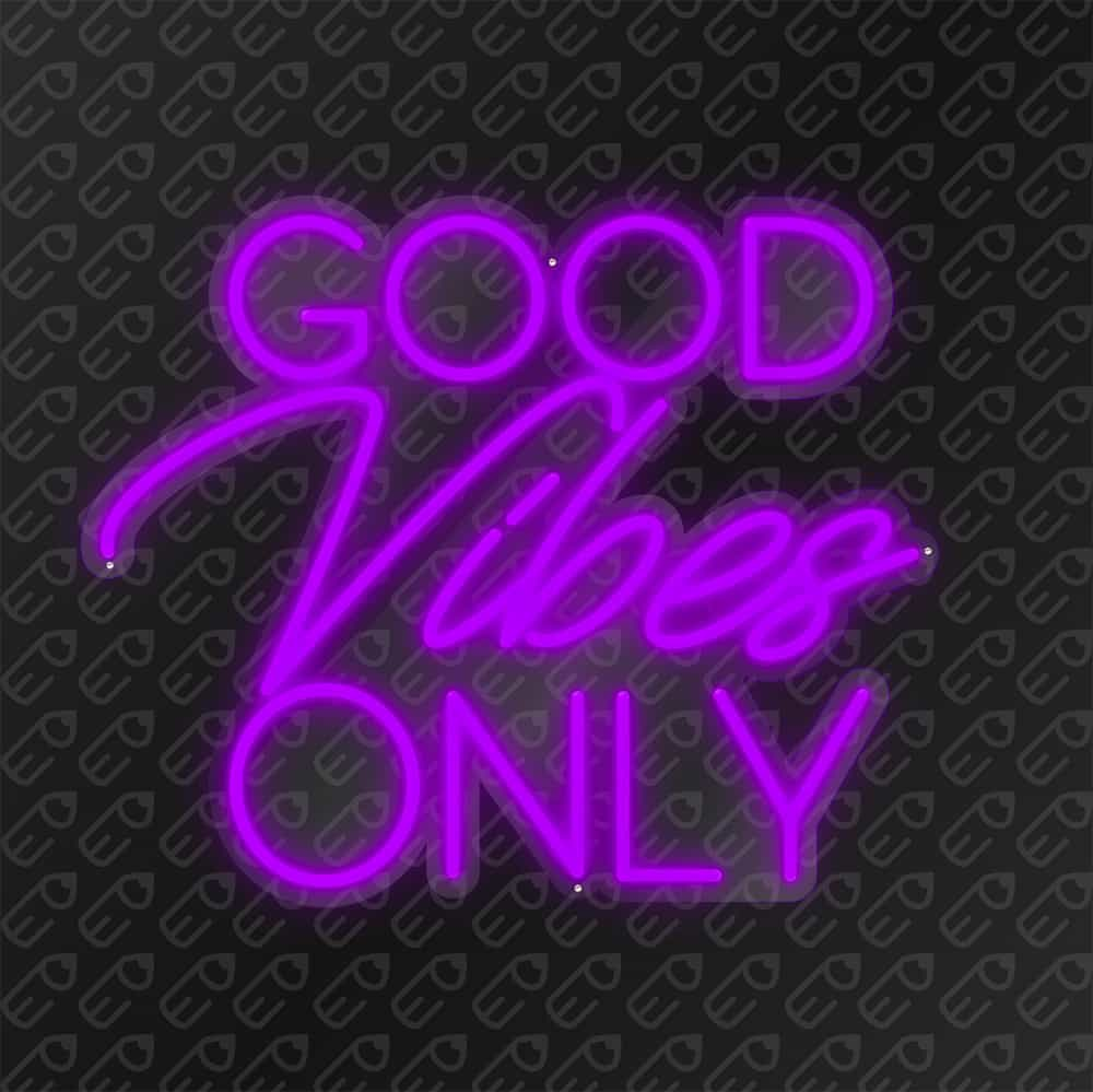Good vibes Only Violet
