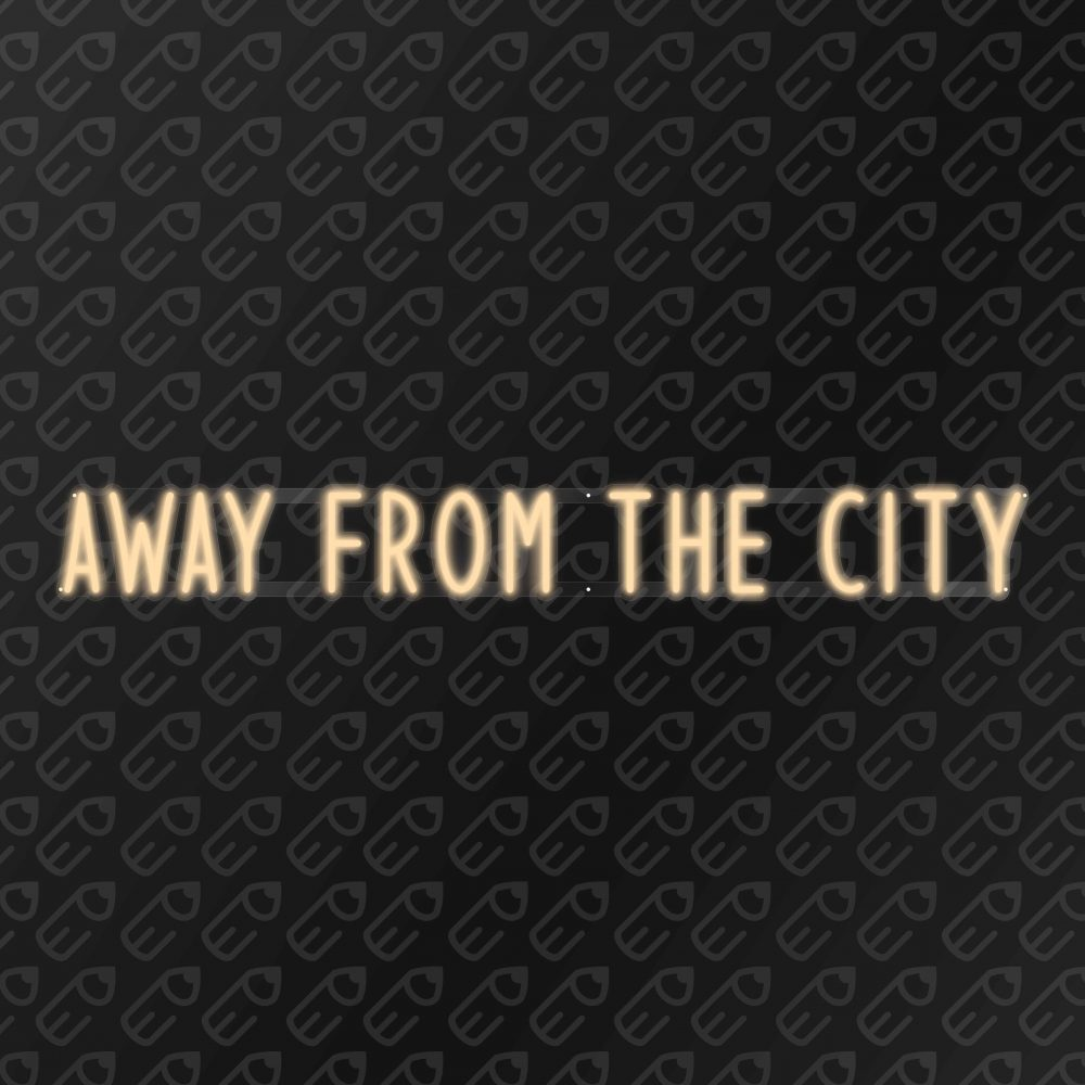 Neon-Away-From-the-city-blanc-chaud